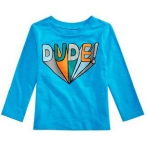 Size 12 M First Impressions Long Sleeve Dude Tees